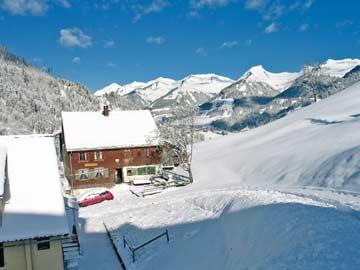 Ferienhaus Marul für den Skiurlaub im Großen Walsertal