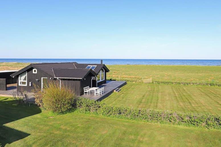 Schön gelegenes Ferienhaus in Saeby an der Ostsee