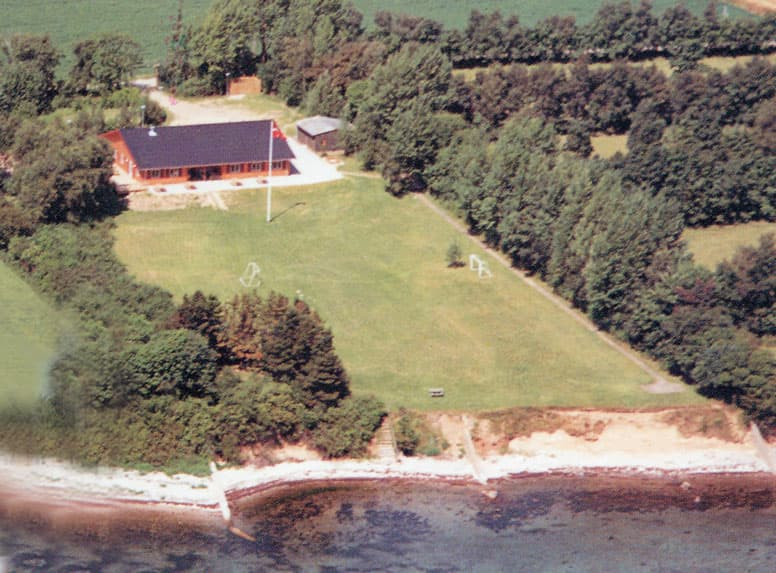 Gruppenhaus Kolding mit eigenem Strand an der Ostsee
