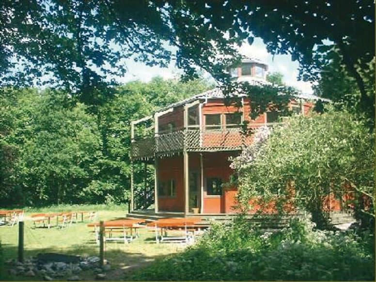 Gruppenhaus Visby mit großem Außengelände