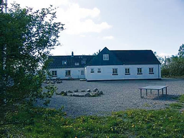 Gruppenhaus bei Lemvig mit großem Außengelände