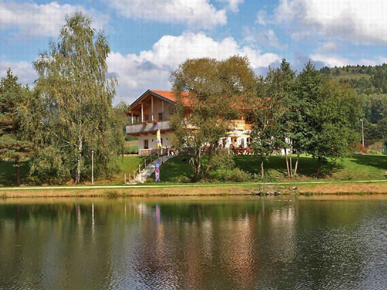 Gruppenhaus Arrach direkt am Badesee