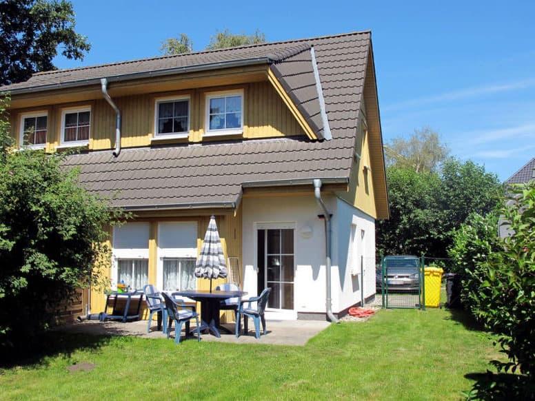Ferienhaus Zinnowitz nahe Ortszentrum, 1,2 km zur Ostsee