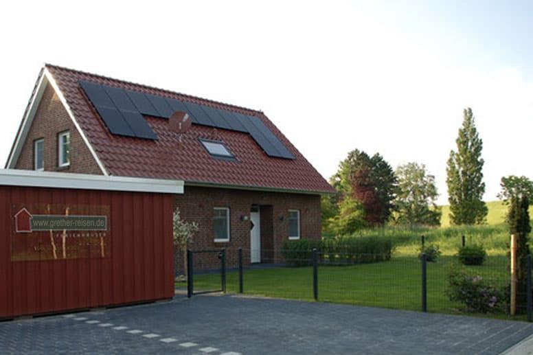 Ferienhaus in Burhave, nur 100 m zur Nordsee