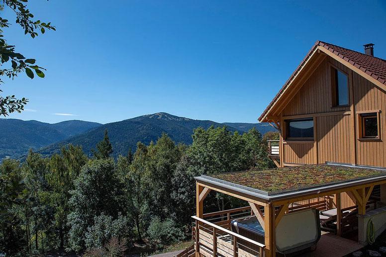 Luxus Berghütte in den Vogesen