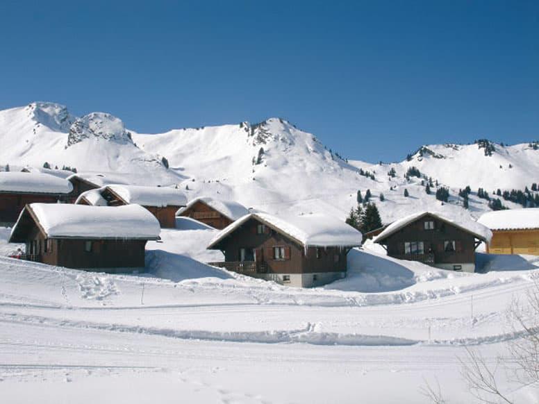 Hütte Praz de Lys