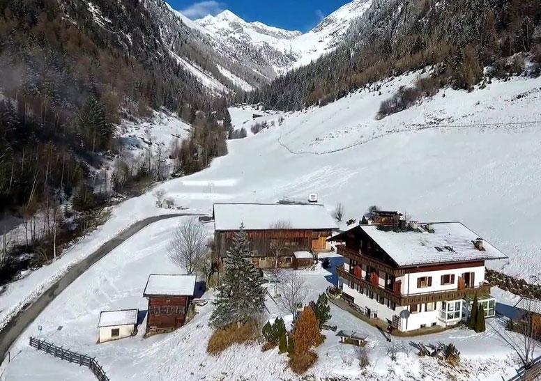 Gruppenhaus Luttach für Skifreizeit und Sommerfreizeit im Ahrntal