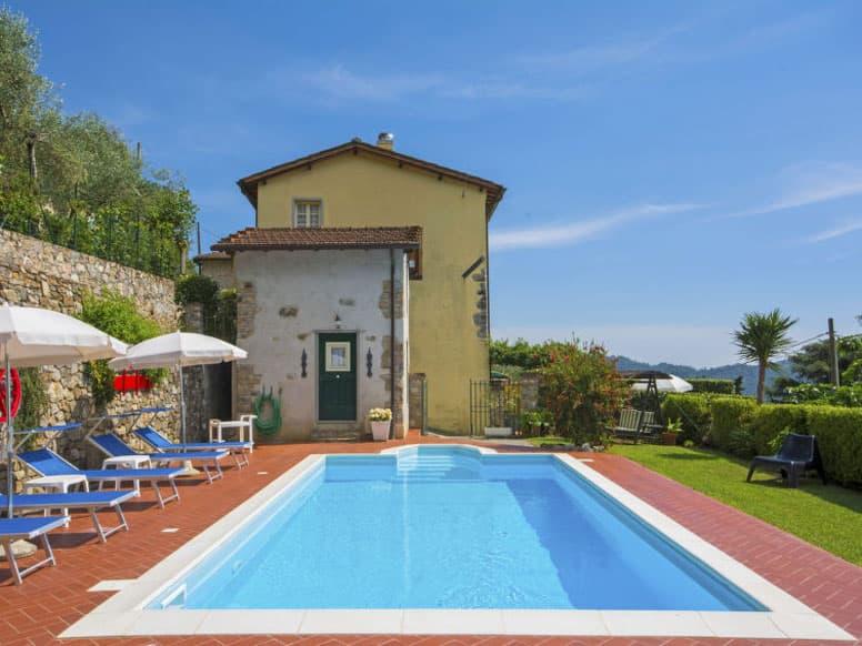 Ferienhaus Camaiore mit Pool