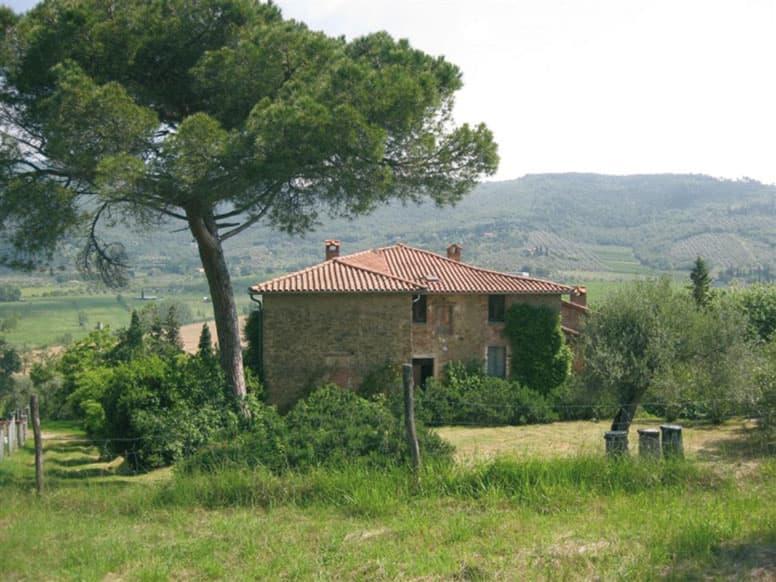 Gruppenhaus Passignano - Das Steinhaus oberhalb des Lago Trasimeno