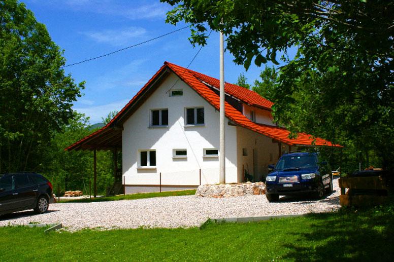 Gruppenhaus mit Pool in Dalmatien