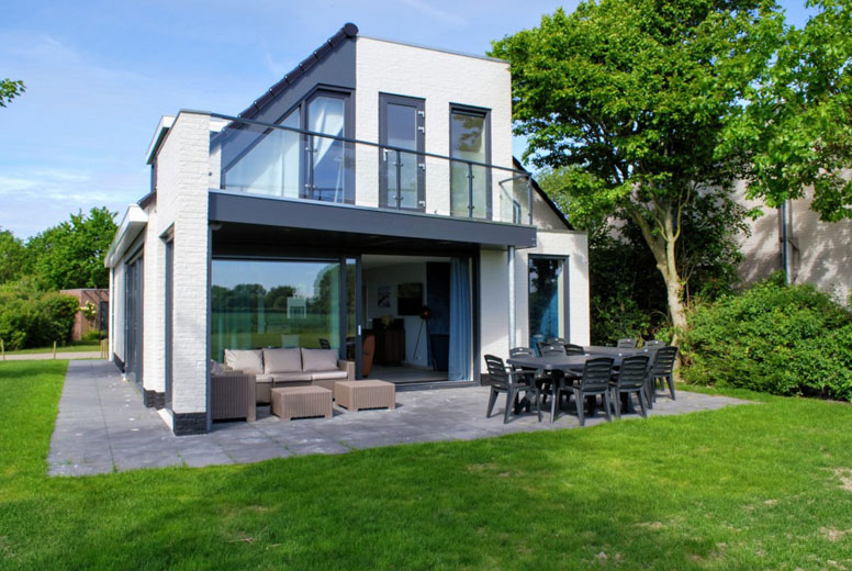 Modernes Ferienhaus zwischen Nordsee und Veerse Meer