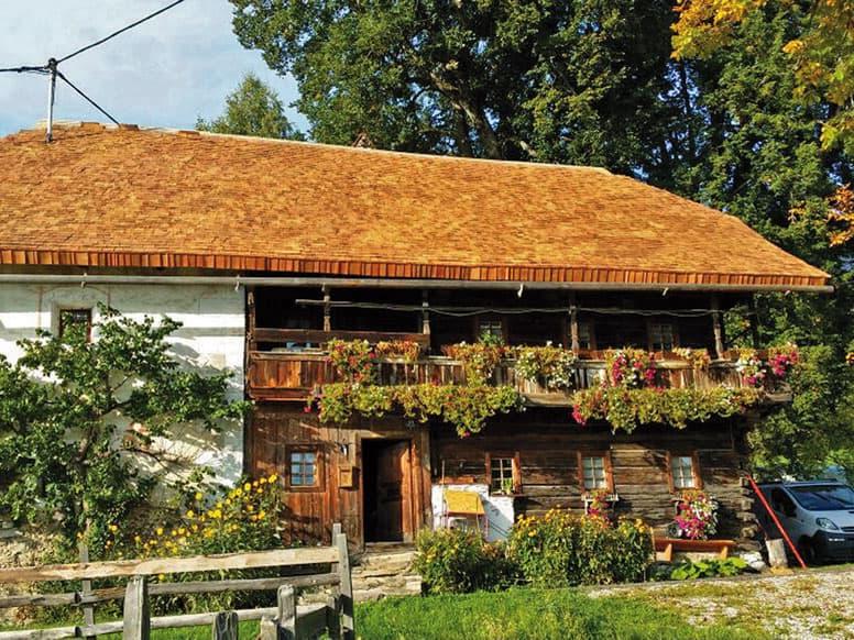 Denkmalgeschütztes Ferienhaus mit Sauna Nähe Millstätter See
