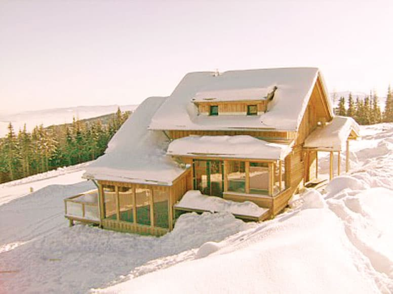 Ferienhaus Klippitztörl - Winteridylle in Kärnten
