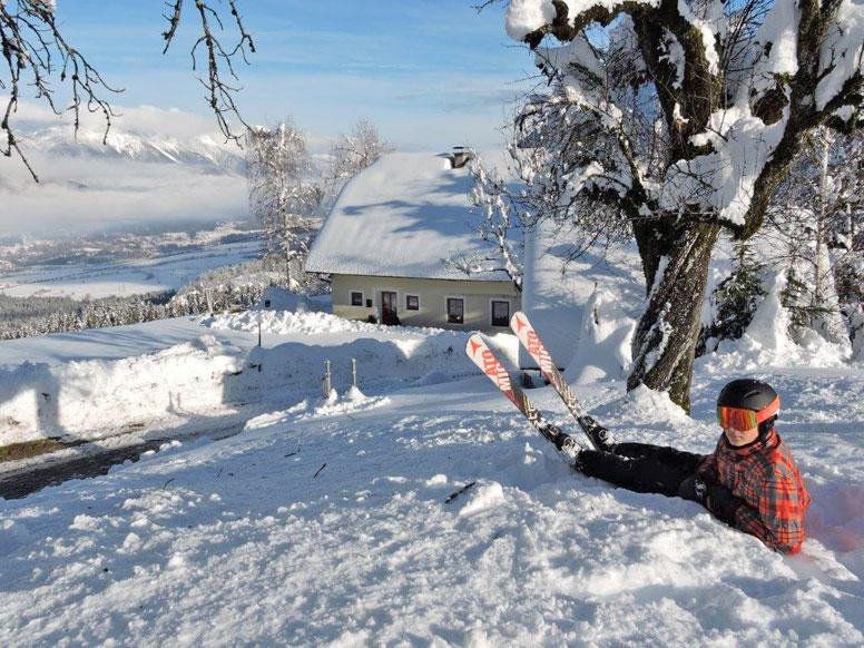 Skihütte Nassfeld - komfortabler Hüttenurlaub Sommer wie Winter