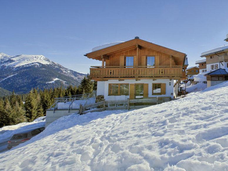 Chalet Zillertalarena - Skiurlaub fast direkt an den Skipisten