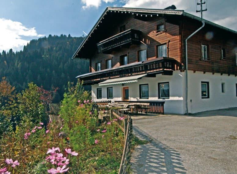 Ferienhaus in Wagrain im Sommer