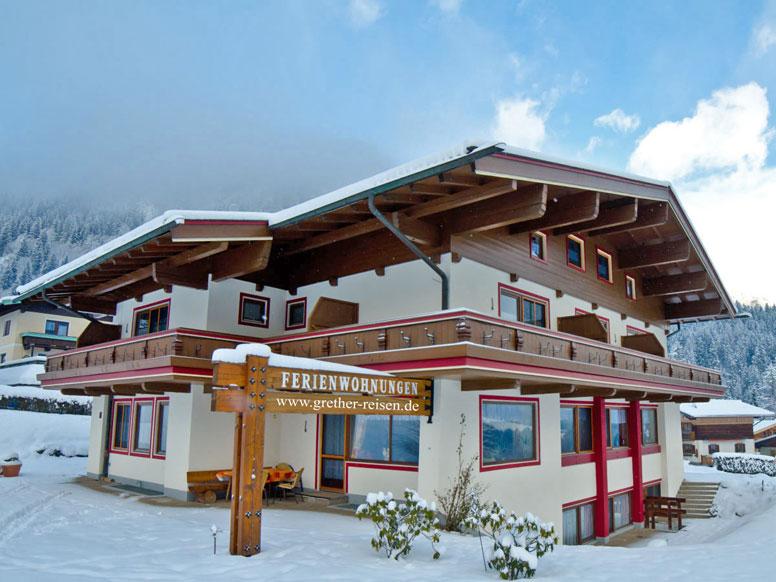 Ferienhaus für Gruppen in Krimml