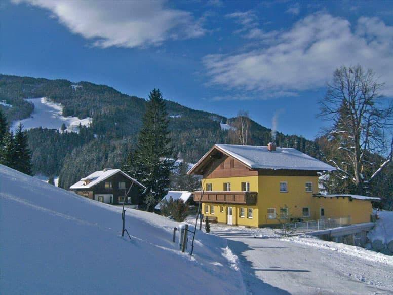Komfortable Skihütte an der Hochwurzen oberhalb von Schladming