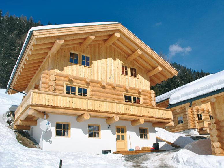Chalet Hochoetz - Skiurlaub direkt an der Talstation in gemütlichem Holzblockhaus (Baujahr 2012)