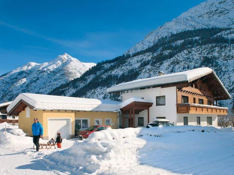 Ferienhaus im Lechtal - Winterurlaub in Tirol