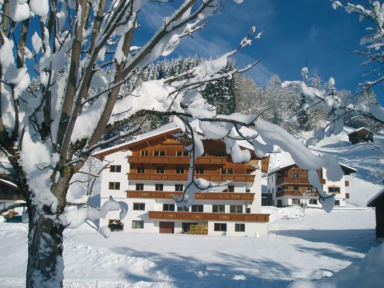 Sehr gut ausgestattetes Gruppenhaus nahe am Schatzberg