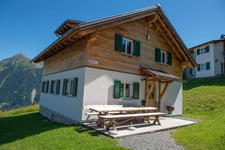 Ferienhaus Garfescha Montafon