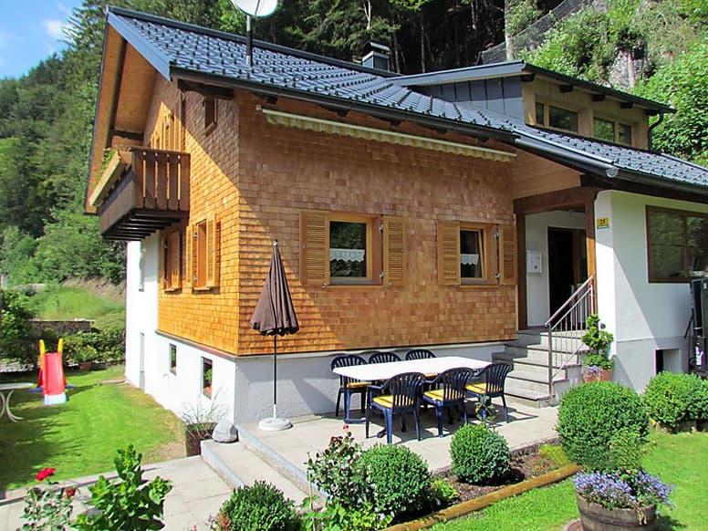 Ferienhaus mit 4 Schlafzimmern im vorderen Montafon
