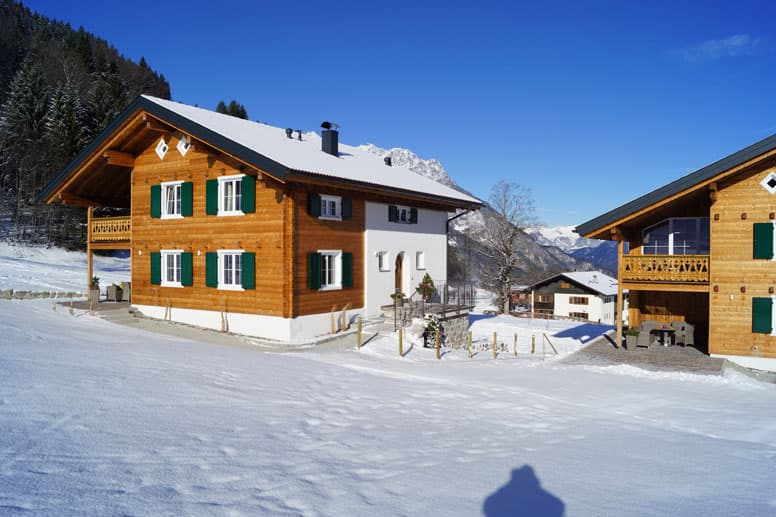 Komfortables Chalet im Montafon mitten im Ski- und Wandergebiet