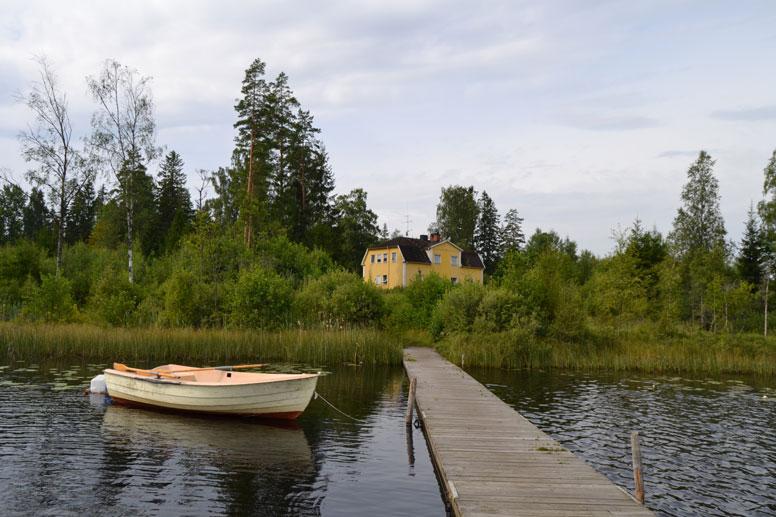 Gruppenhaus Fagerhult direkt am See
