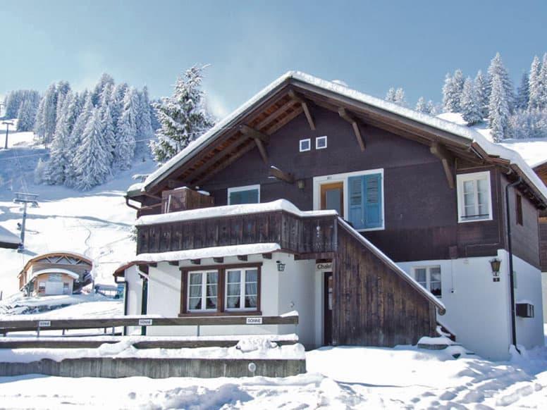 Ferienwohnung in Adelboden am Welcuphang Chuenisbärgli