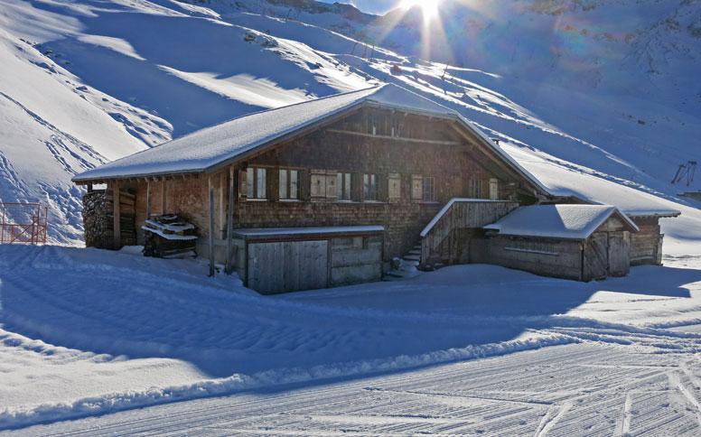 Skihütte Adelboden