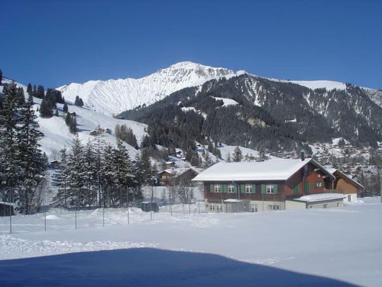 Gruppenunterkunft Adelboden - idyllische Lage im Weltcuport Adelboden