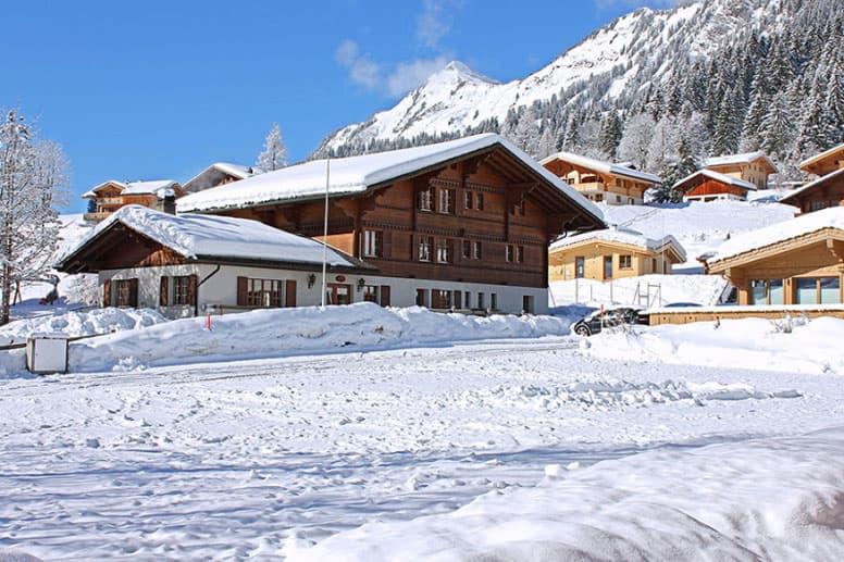 Gruppenhaus Gsteig bei Gstaad