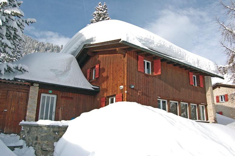 Hütte Lenzerheide - perfekte Lage zur Skipiste