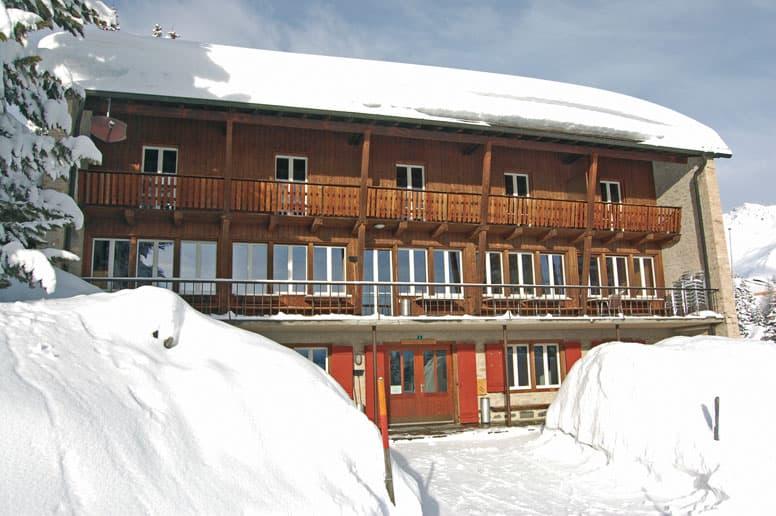 Gruppenhaus Valbella - Skiurlaub in Graubünden direkt an der Skipiste