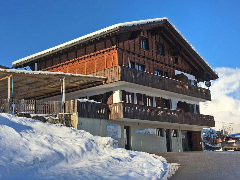Ferienhaus in Flumserberg für Gruppen
