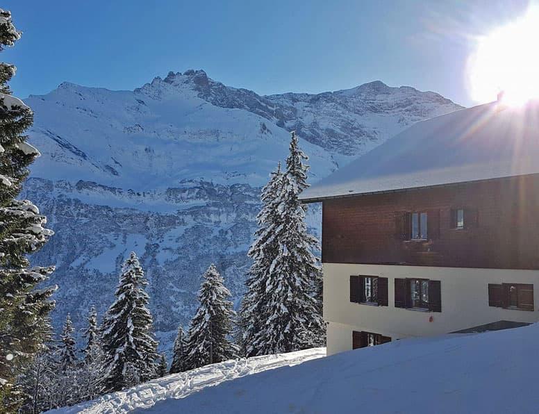 Skihaus Elm, direkt im Wander- und Skigebiet