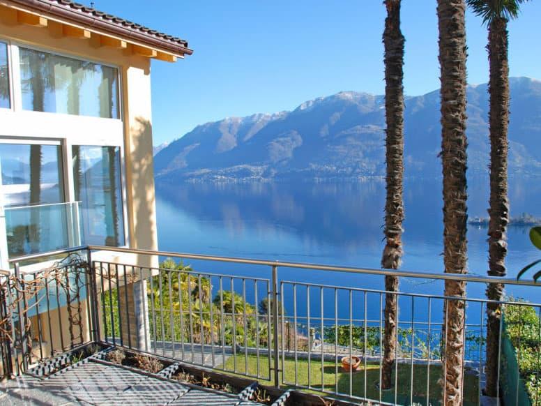 Ferienwohnung mit Panoramasicht auf den Lago Maggiore