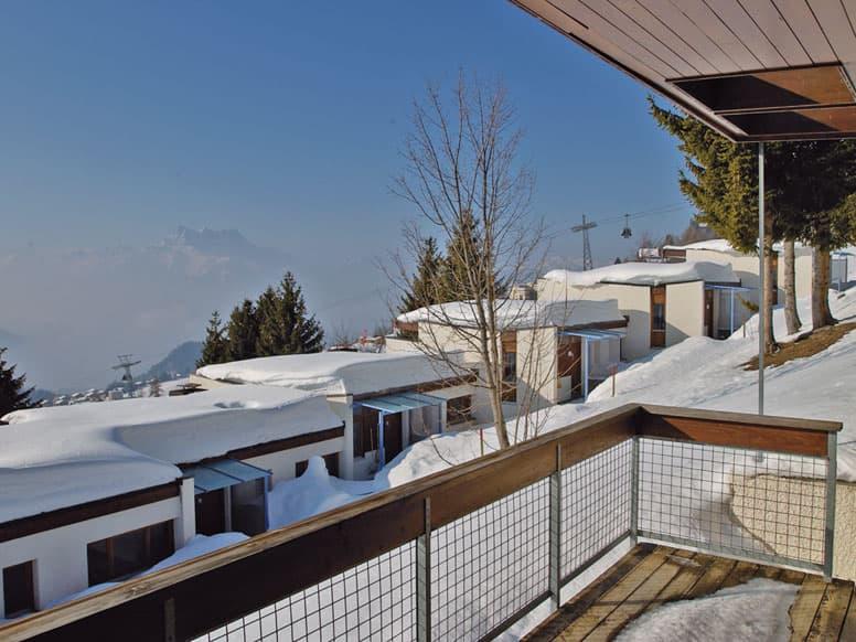 Appartement Leysin im Winter