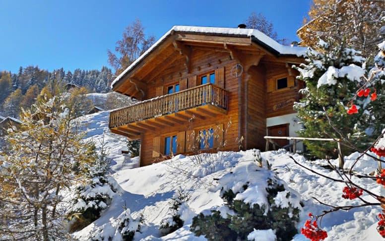 Ski- und Berghütte Les Collons