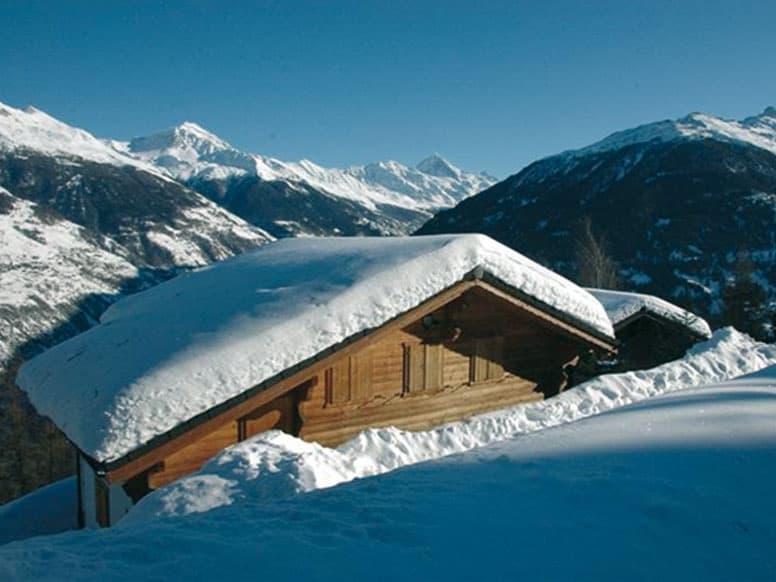 Toll gelegenes Chalet mit Sauna in Les Collons, nur 50 m zur Piste