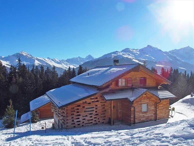 Chalet Collons 1900 - Skiurlaub direkt in den 4 Vallées