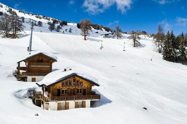 Chalet ski-in/ ski-out Les Collons