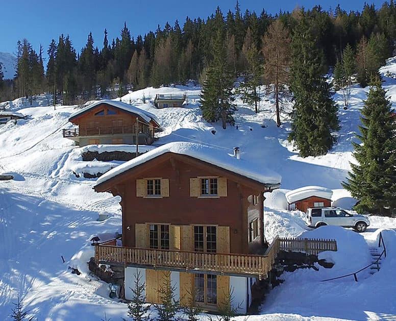 Ferienhaus Les 4 Vallées - Skiurlaub Wallis