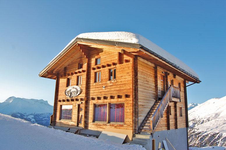 Ferienwohnung direkt an den Skipisten im Skigebiet Belalp