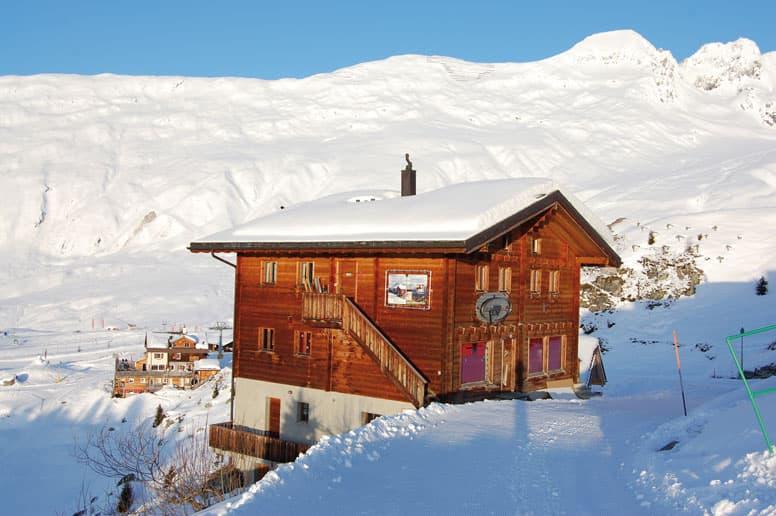 Ferienwohnung mit 3 Doppelzimmern in gigantischer Lage auf 2100 m Höhe