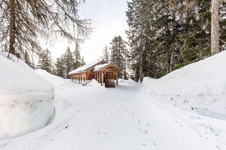 Skihütte Wildhorn - Skiurlaub im Wallis direkt an der Talstation, dennoch in herrlicher Alleinlage