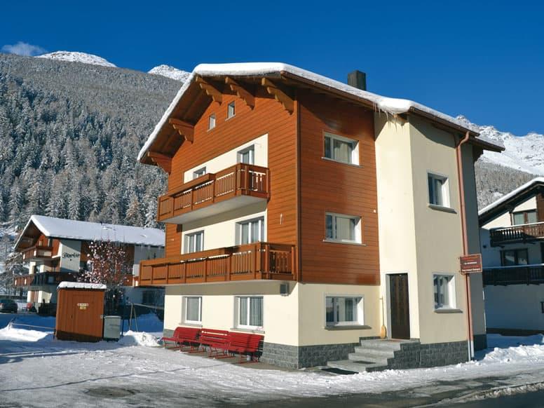 Ferienhaus Saas Grund - perfekt für Familiengruppen