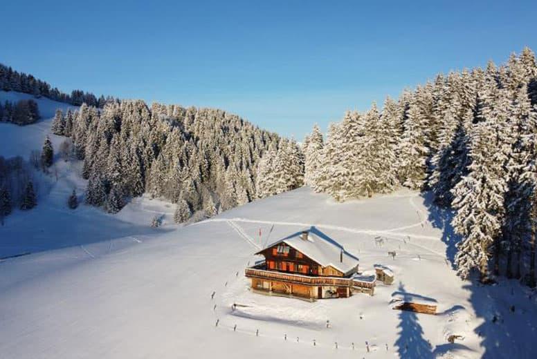 Skihütte Morgins - traumhaft abgeschiedene Lage in den Portes du Soleil