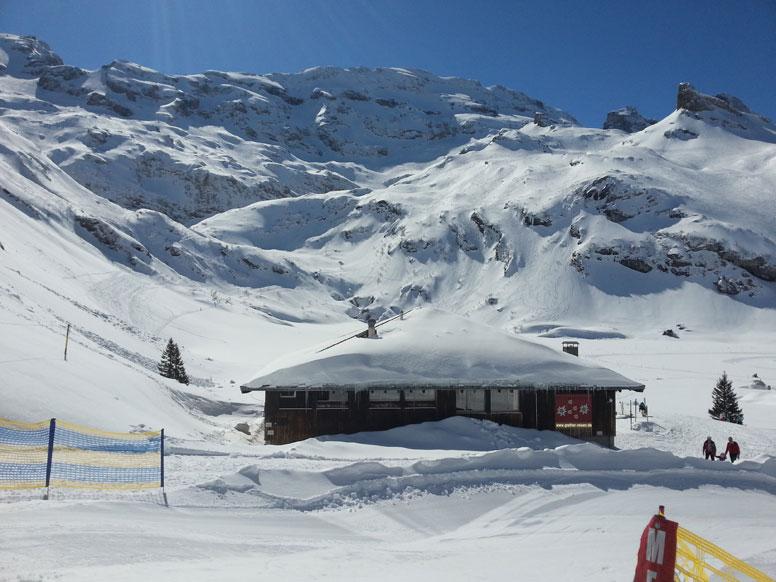 Hütte in bester Pistenlage im Top-Skigebiet Engelberg-Titlis